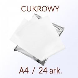 PAPIER CUKROWY A4 - 24 ark.