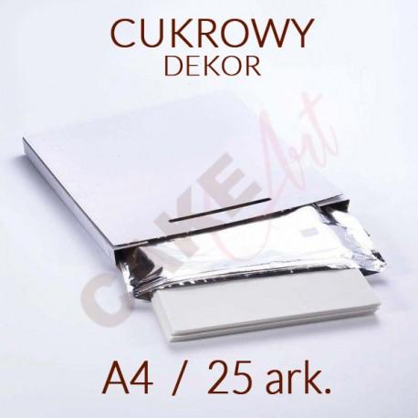 PAPIER CUKROWY - DEKOR PLUS A4 25 ark.